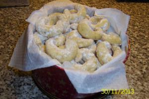 Vanilkové rohlíčky podle babičky Aničky