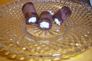 Oříško čokoládové trubičky