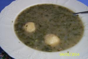 Pažitková polévka