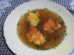 Placičky jako příloha do polévek