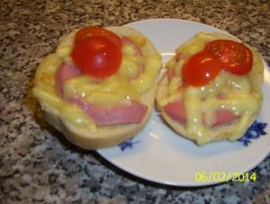 Zapékané chlebíčky