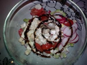 Šopský salát exclusive