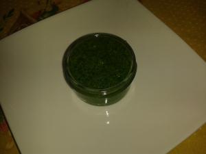 Pesto z medvědího česneku