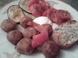 Falafel - karbanátky z cizrny