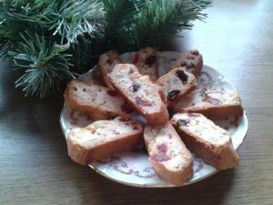 Ovocný (biskupský) chlebíček - cukroví