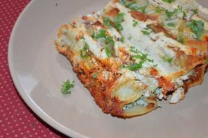 Cannelloni s ricottou a špenátem podle Jamie Olivera
