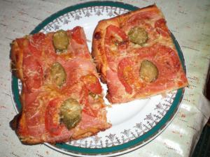 Pizza na plechu