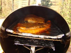 Pstruh a losos v Muurikka Smoker