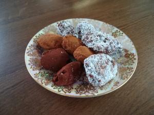 Čokoládové lanýže s griliášem