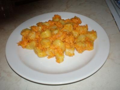 Knedlíky s mrkví