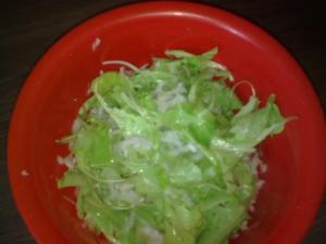 Ředkvičkový salát s insalatinou