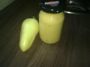 Papriková hořčice