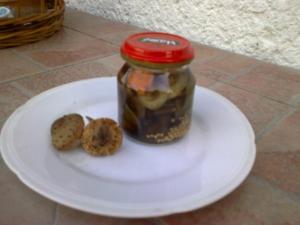 Václavky ve sladkokyselém nálevu