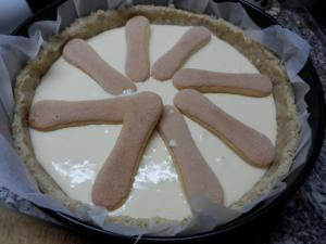 Jahodovo - citronový cheesecake