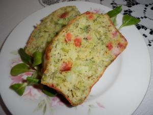 Brokolicová bábovka