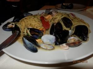 Spaghetti Frutti di mare (špagety s plody moře)
