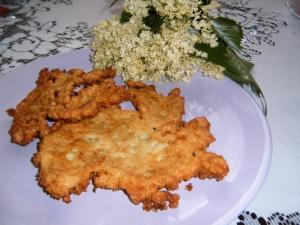 Kosmatice - smažené květy černého bezu