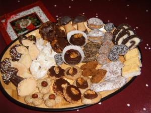 Hříbečky - dortíčky z lískových oříšků