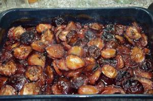 Švestkový džem pečený v troubě