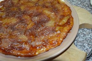 Tarte Tatin - Obrácený jablečný koláč