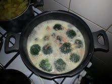 Brokolicovo-česneková polévka